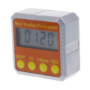 360° Digital Protractor Inclinometer Electronic Level Box Magnetic Angle Gauge $25.57