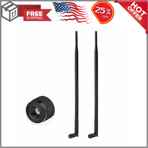 Eightwood 4G LTE Antenna 9dbi RP SMA Male Antenna Compatible with Spypoint Link $15.59