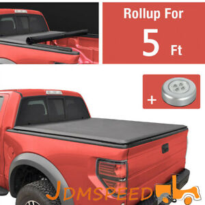 Soft Roll Up Tonneau Cover 5 Feet 60 Inches Short Bed For Chevy Colorado 15 19 $140.99