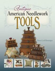 Antique American Needlework Tools Collector REFERENCE Sewing Boxes Thimbles More $34.99