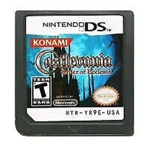Castlevania: Order of Ecclesia Nintendo DS 2005 Game Card OnlyTested Working $14.99