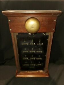 Hotel Antique Annunciator Panel Antique With Call Bells I1 $200.99