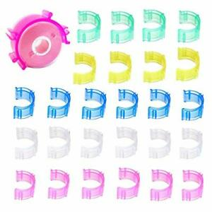 80Pcs Pack Colorful Sewing Bobbin Small Clips Sewing Tool Accessory Thread $13.72