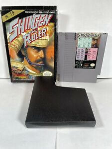 Shingen the Ruler Nintendo NES 1990 No Manual AUTHENTIC TESTED $21.99