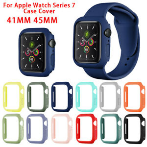 For Apple Watch Series 7 41 45MM PC Protect Hard Bumper Shockproof Case Cover $8.45
