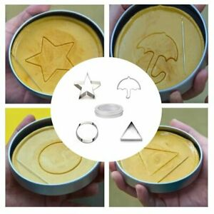 Squid Game Biscuits Cookie Mold and Storage Tin 5pcs set Realistic Korean Movie