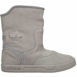 adidas Extraboot Pull On Womens Boots Mid Calf Grey