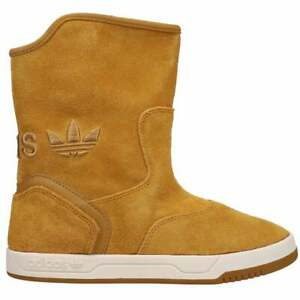 adidas Extraboot Pull On Womens Boots Mid Calf Brown
