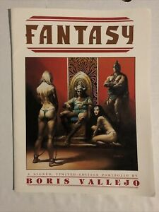Boris Vallejo Fantasy Signed and numbered Limited Edition Portfolio 1984 $120.00