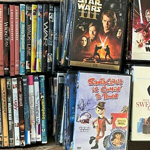 DVD Lot Pick and Choose TV Action Comedy Drama Horror Kids Western Flat Shipping $2.00