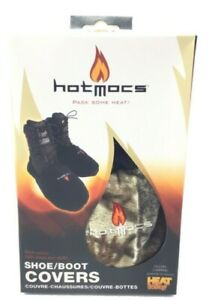 HotMocs Fleece Shoe amp; Boot Covers Camo With 2 Warmers Outerwear Size Adult 8 9