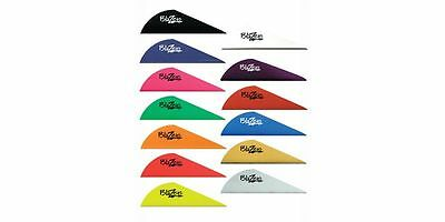 12 36 50 or 100 Pack Bohning 2 Blazer Vanes 16 Colors Available