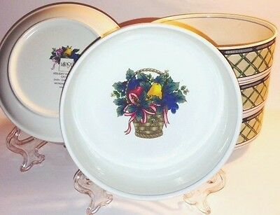 Set of 5 Mikasa Holiday Harvest CA131 Cereal Bowls - Great Condition