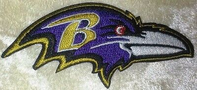 Baltimore Ravens B 3-5 Iron On Embroidered Patch US SellerFREE Ship