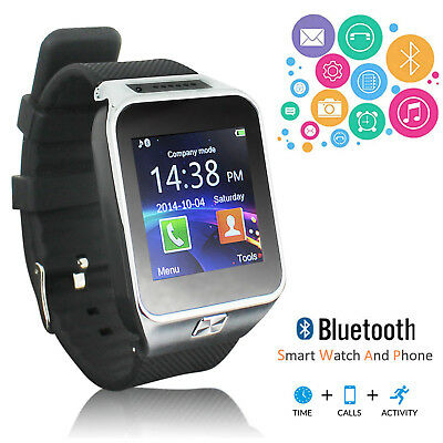 Stylish Bluetooth Smart Watch Phone For iPhone 6 plus Galaxy Android Smart Phone