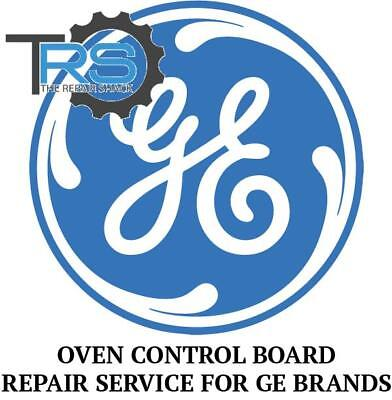 Repair Service For GE Oven  Range Control Board WB27T10083