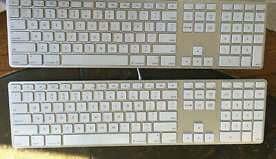 Apple Mac A1243 Aluminum Keyboard Original Replacement Key Letter Button Only
