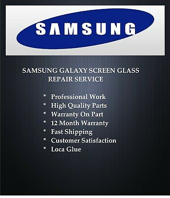 Samsung Galaxy S5 broken cracked screen glass repair replacement service