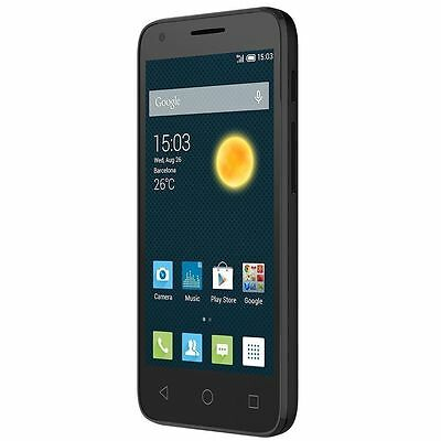 Brand New Alcatel Pixi 3 - 3-5 Screen Unlocked Android 4-4-Smartphone Black