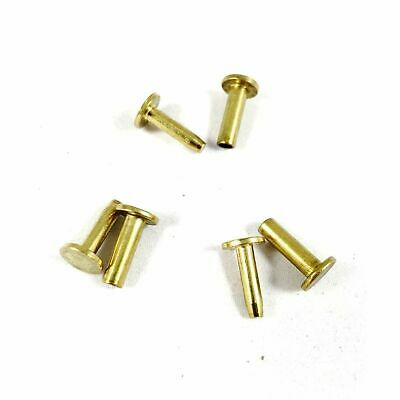 Cutlers Cutlery Rivets 516 x 12 Knife Making Handle Pins Brass - 10 sets