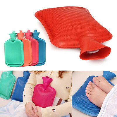 Rubber HOT WATER BOTTLE Bag WARM Relaxing Heat  Cold Therapy 670 ML  1800 ML