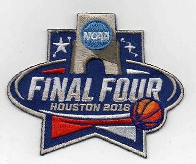 2016 MENS FINAL FOUR PATCH MARCH MADNESS JERSEY OKLA SYRACUSE VILLANOVA CAROLINA