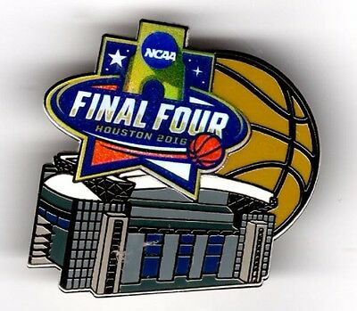 2016 MENS FINAL FOUR HOUSTON STADIUM PIN MARCH MADNESS MORE FOUR IN STORE