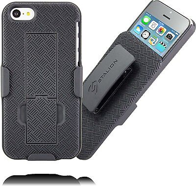 Stalion® Secure Belt Clip Holster - Shell Case Cover for Apple iPhone 5 5s 5c SE