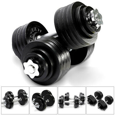 Yes4All Cast Iron Adjustable Dumbbell Weight Set 40 to 200 lbs Set of 2
