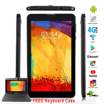 UNLOCKED 7-0 GSM Android 4G SmartPhone Tablet PC Dual Sim Google Play Store