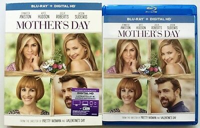 MOTHERS DAY BLU RAY - SLIPCOVER SLEEVE FREE WORLD WIDE SHIPPING JULIA ROBERTS