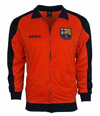 FC Barcelona Soccer Official License Soccer Hoodie Jacket Football Large