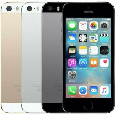 Apple iPhone 5S - 16GB  32GB  64GB - Unlocked - Smartphone
