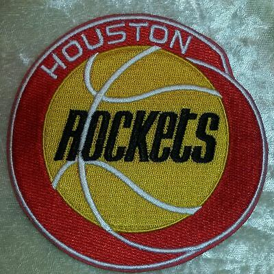 Houston Rockets NBA 4 Iron On Embroidered PatchUSAFREE Ship
