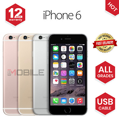 Apple iPhone 6 16GB64GB Unlocked Sim Free Smartphone  - ALL COLOURS