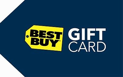 10  25  50  100 Best Buy Gift Card - Mail Delivery