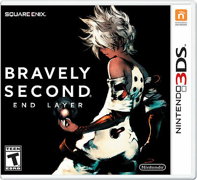 Bravely Second End Layer Nintendo 3DS 2016