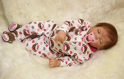 Full silicone reborn OtardDolls ORIGINAL NEW soft vinyl 22 baby doll lifelike