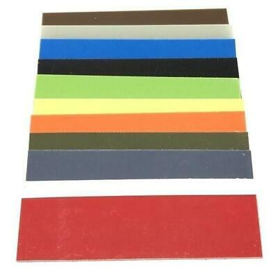 -04 - G10 Knife Handle Liners Spacers-  1-5 x 5-5- 11 Vibrant Colors- 1 set