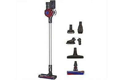 NEW Dyson V6 Pro Bagless Cordless Stick Vacuum Red with 5 Attachments 209521-01