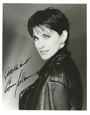 CONNIE SELLECCA SIGNED 8x10 PHOTO WITH COA