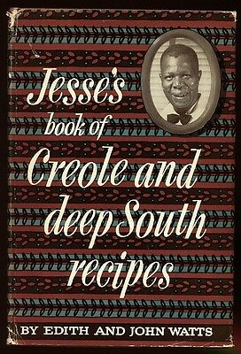 1954 Jesses Book of Creole and Deep South Recipes 1st EDITION in dust jacket