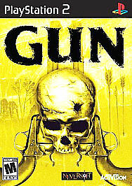 Gun Sony PlayStation 2 2005 PS2 Game Complete Tested