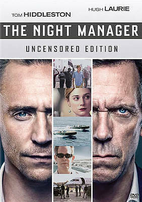 The Night Manager TV Series First Season 1 DVD 2016 2-Disc Set