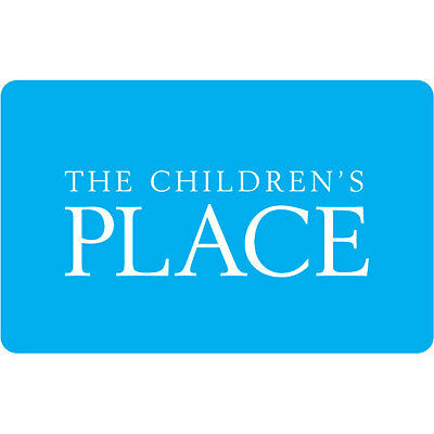 50 The Childrens Place Gift Card For Only 42-50 - FREE Mail Delivery