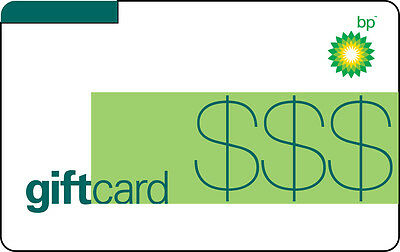 100 BP Gas Gift Card For Only 93 - FREE Mail Delivery