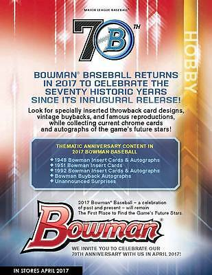 SEATTLE MARINERS 4 2017 BOWMAN BASEBALL JUMBO 12 CASE 4BOX BREAK