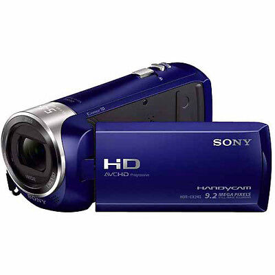 Sony HDR-CX240L Video Camera with 2-7-Inch LCD Blue