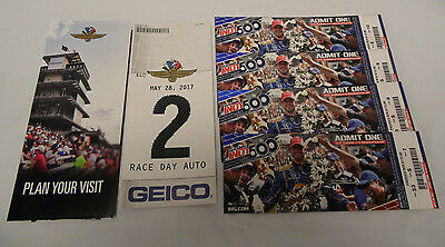 4 Tickets - 2017 Indianapolis 500 - Paddock Across From Pits- - PARKING PASS