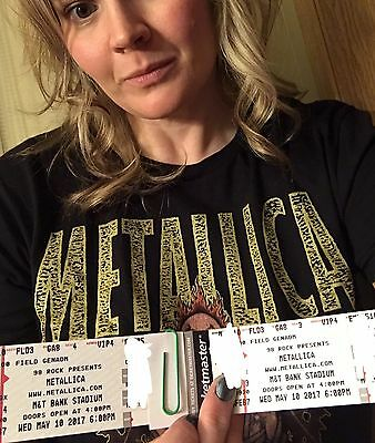2 VIP 8th Row Metallica Unforgiven Experience tickets in Baltimore MD May 10